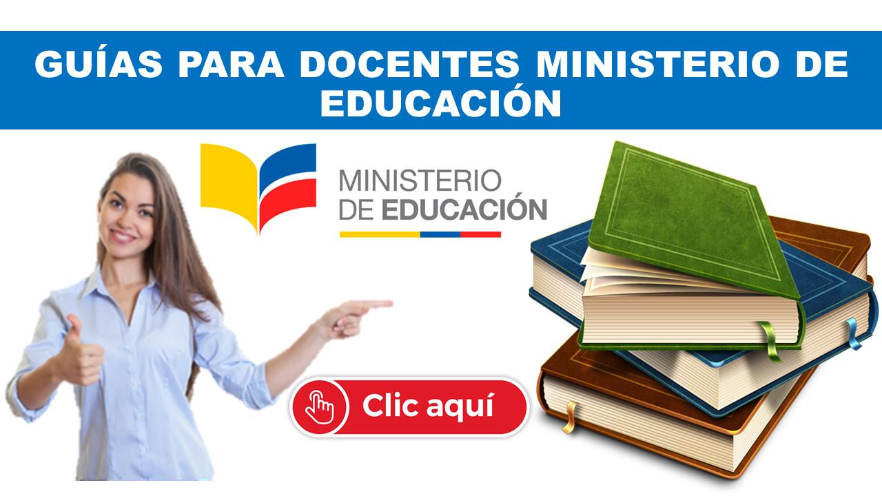 Guías Docentes 2020 Ministerio de Educación