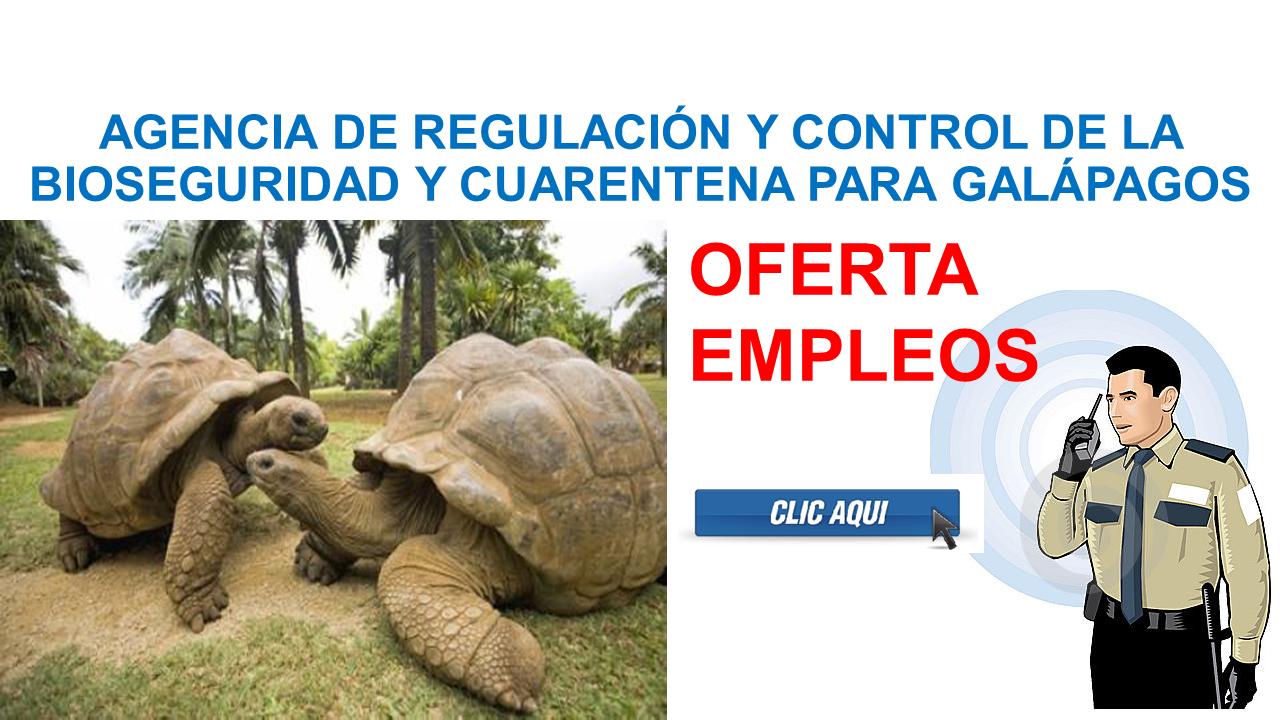 AGENCIA DE REGULACIÓN Y CONTROL DE LA BIOSEGURIDAD Y CUARENTENA