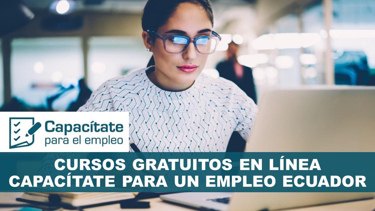 Capacítate en línea para un empleo Ecuador