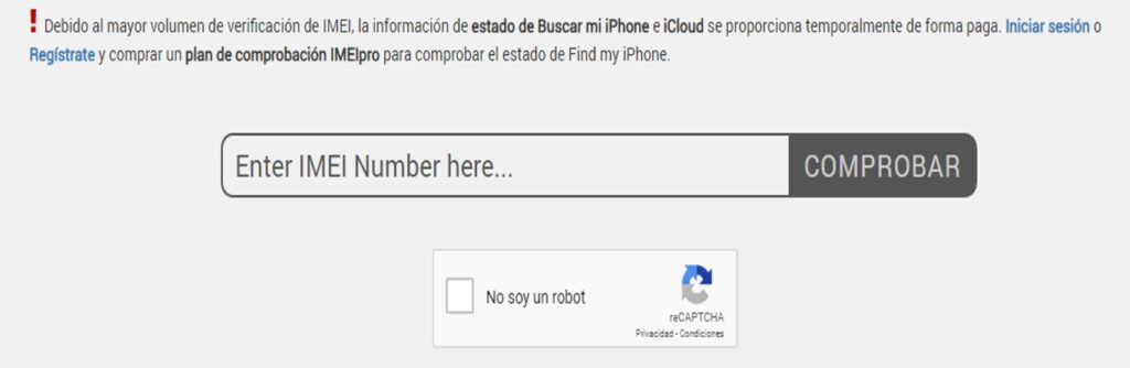 Como bloquear el celular robado con el código IMEI