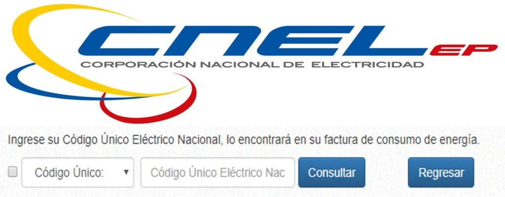 Consultar planilla de luz Sucumbíos-CNEL EP
