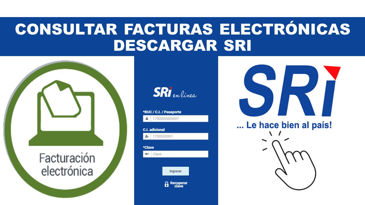 Consultar facturas electrónicas Descargar SRI
