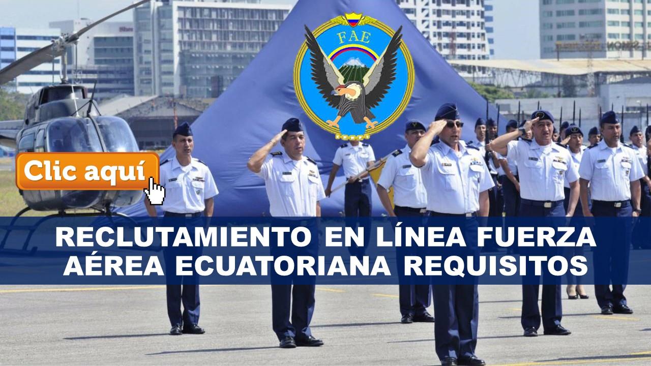 Reclutamiento en Línea para la Fuerza Aérea Ecuatoriana