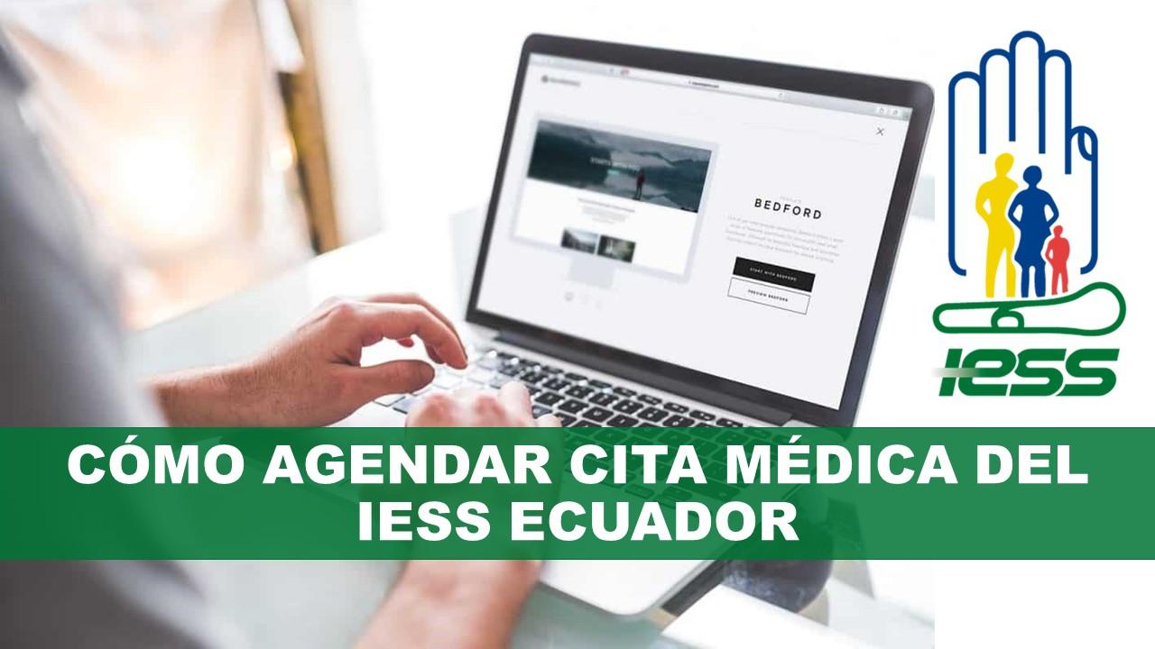 Cómo Agendar Cita Médica del IESS Ecuador