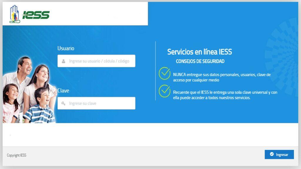 Cuáles son los servicios en línea del IESS