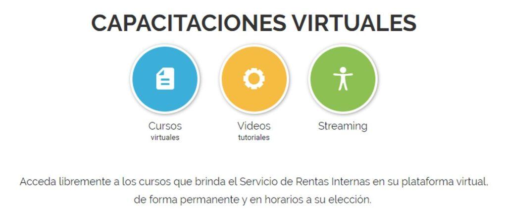 Capacitaciones virtuales gratuitas disponibles en el SRI