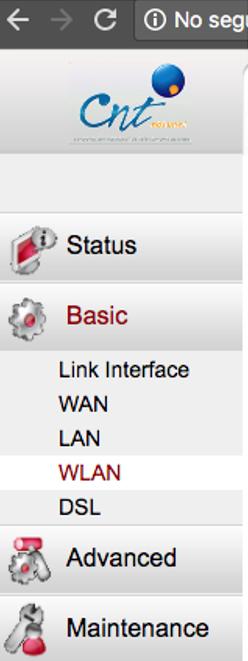 Cómo cambiar la contraseña del Wifi CNT