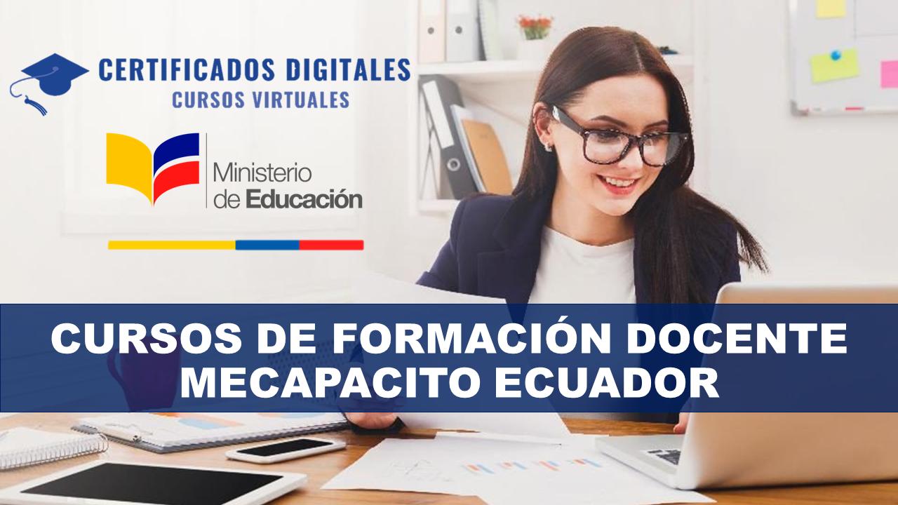 Cursos de formación docente MECAPACITO Ecuador