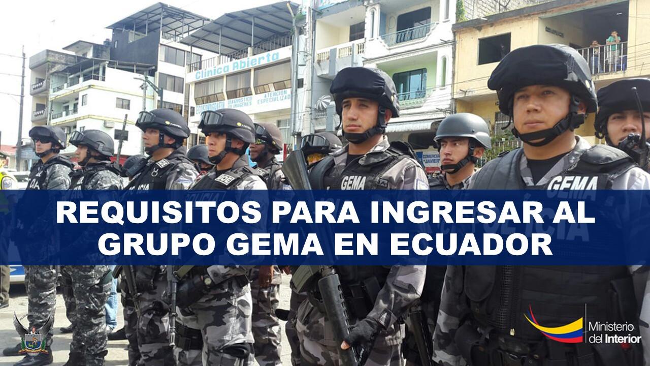Requisitos para Ingresar al grupo Gema en Ecuador