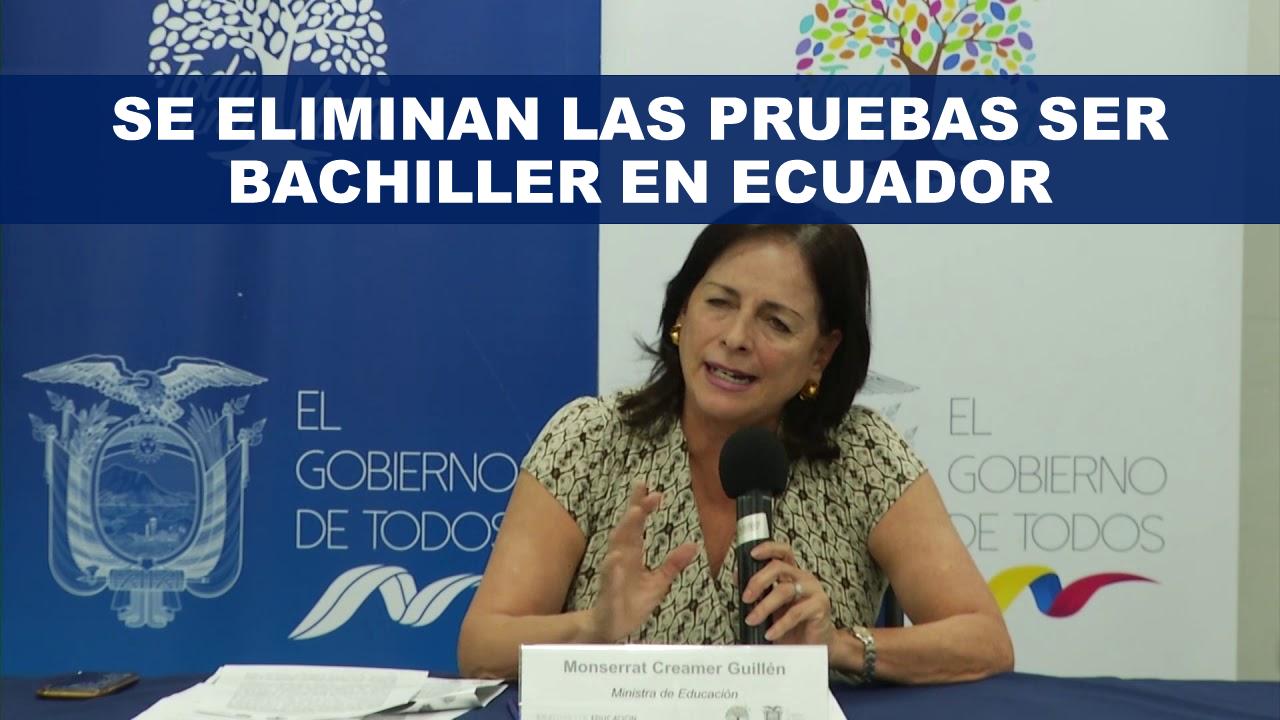Se eliminan las pruebas Ser Bachiller en Ecuador