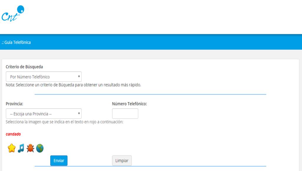 Consultar a quien pertenece un número de teléfono en Ecuador