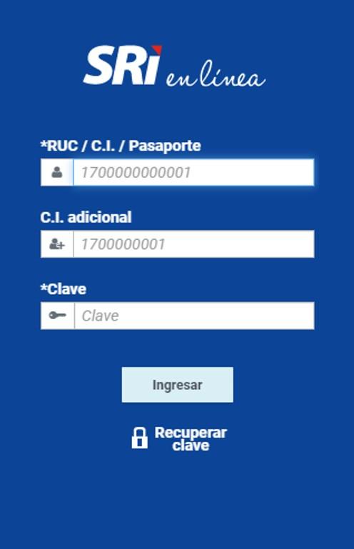 Certificado de no tener RUC en el SRI Ecuador