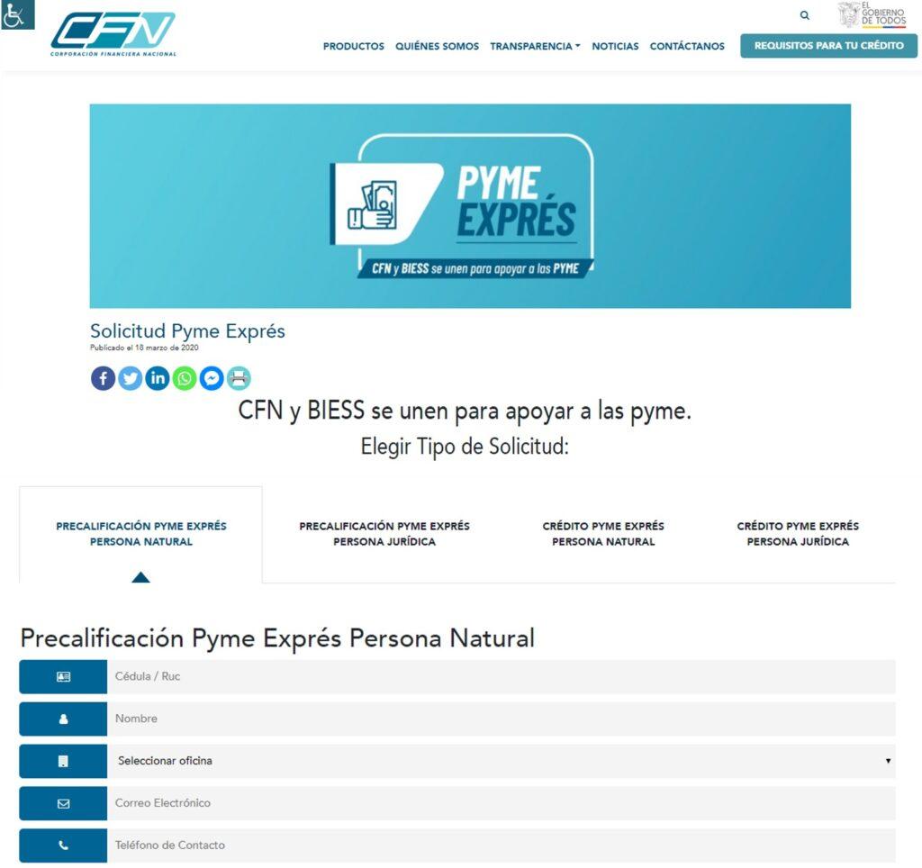 Biess y CFN otorgan créditos ágiles de 25 a 100 mil a pequeñas empresas