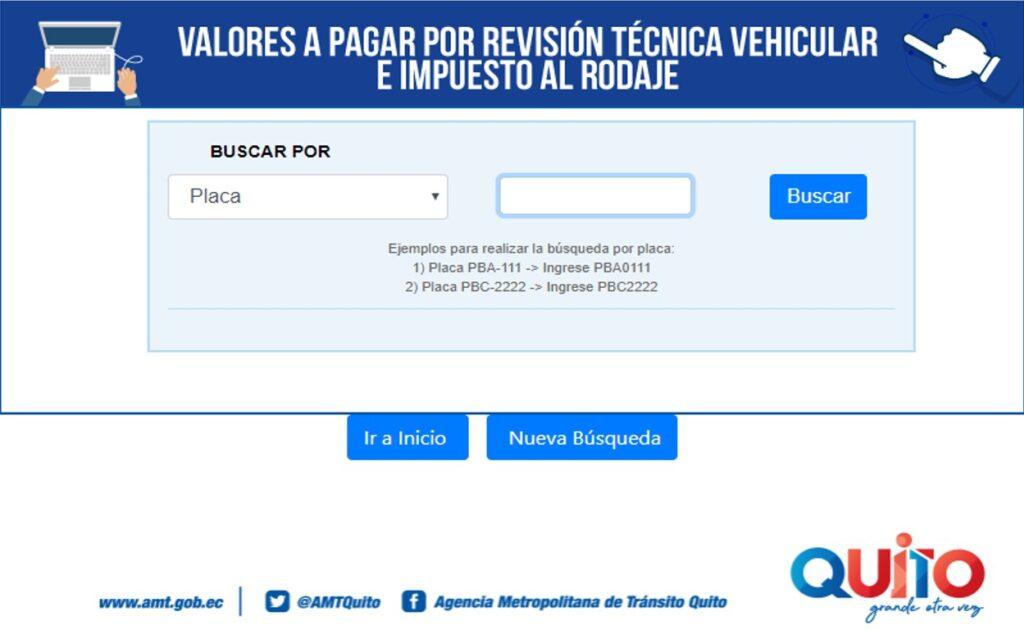 Agendar cita de matriculación o revisión vehicular AMT