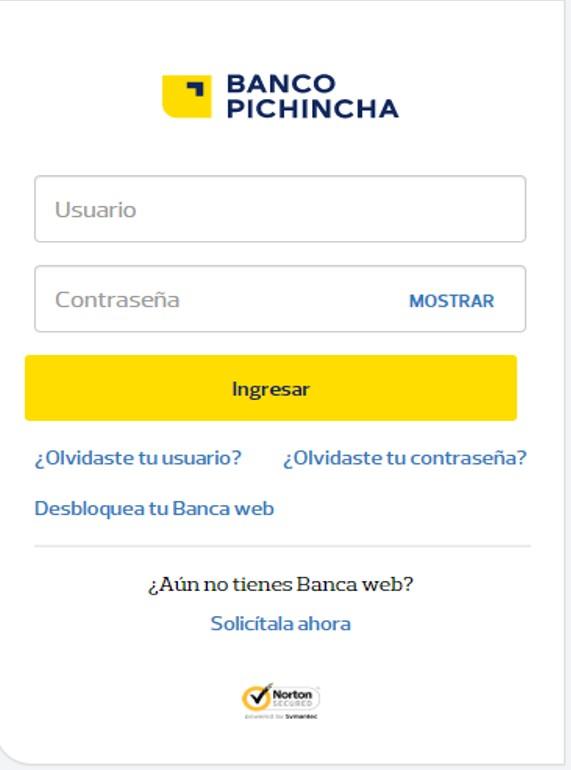 Pagar multas de tránsito – Banco Pichincha