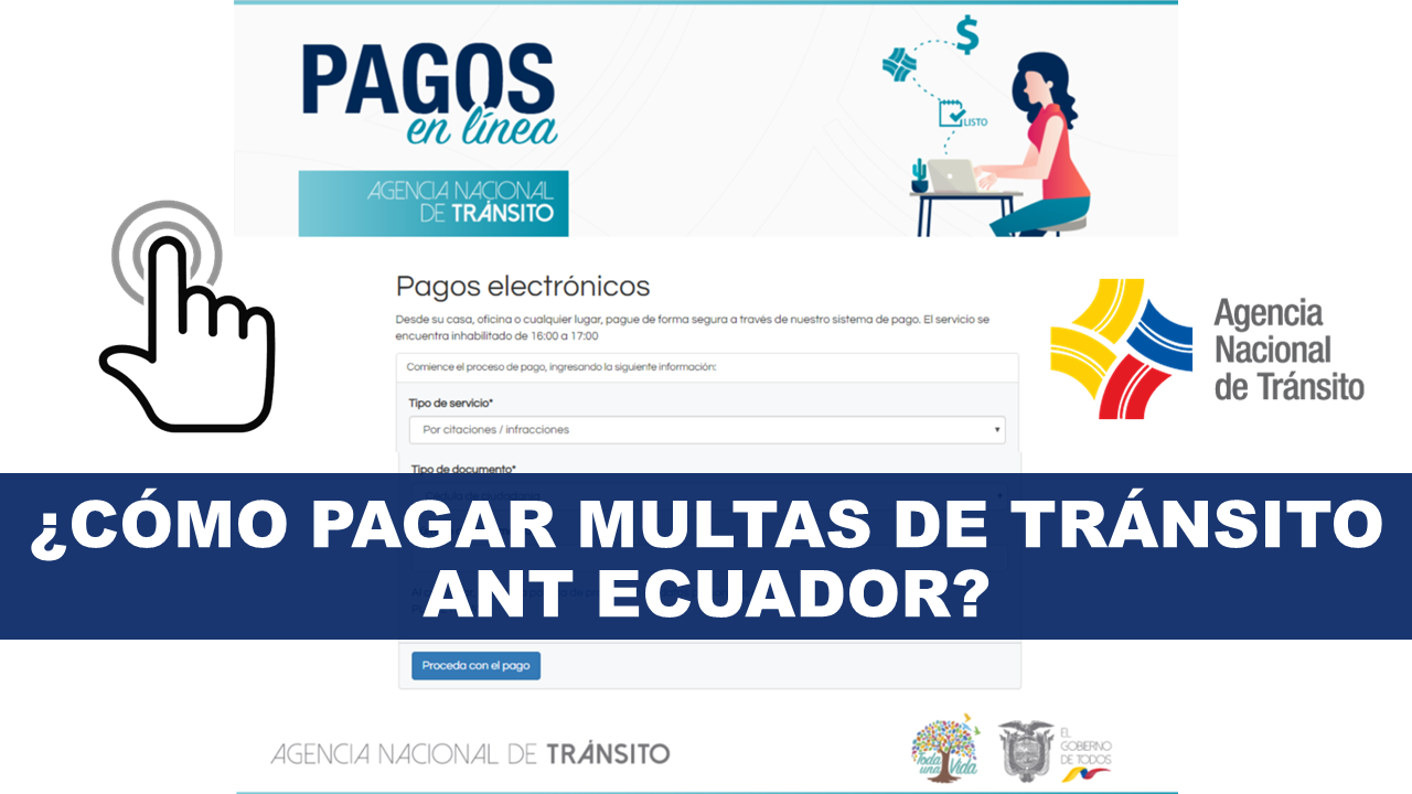 Cómo pagar multas de tránsito ANT Ecuador