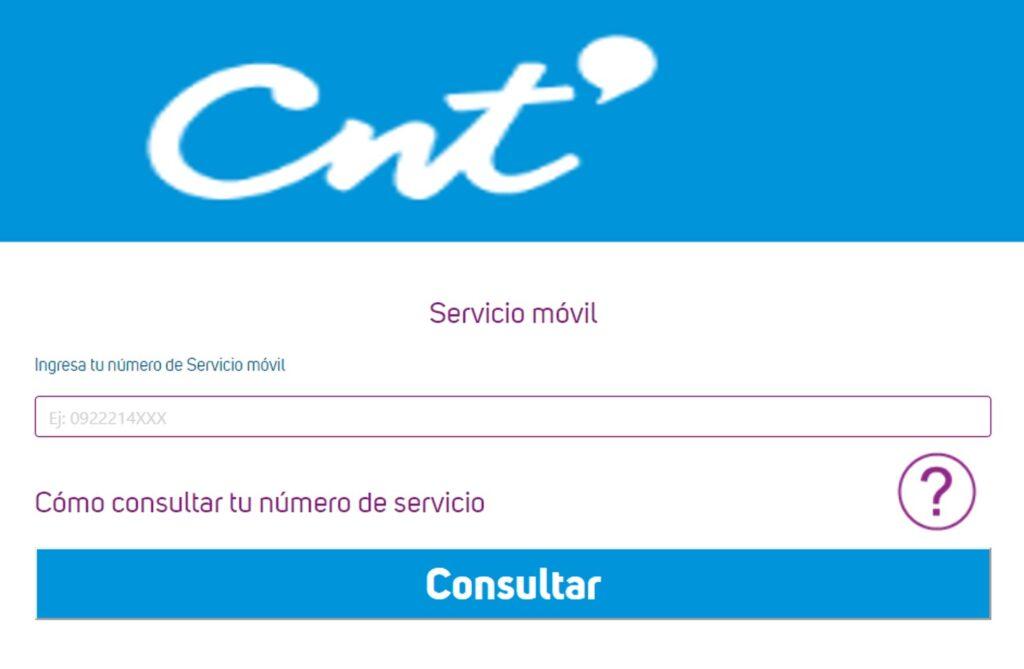 CNT Planilla online - Consultar Valor de Planilla Telefónica CNT
