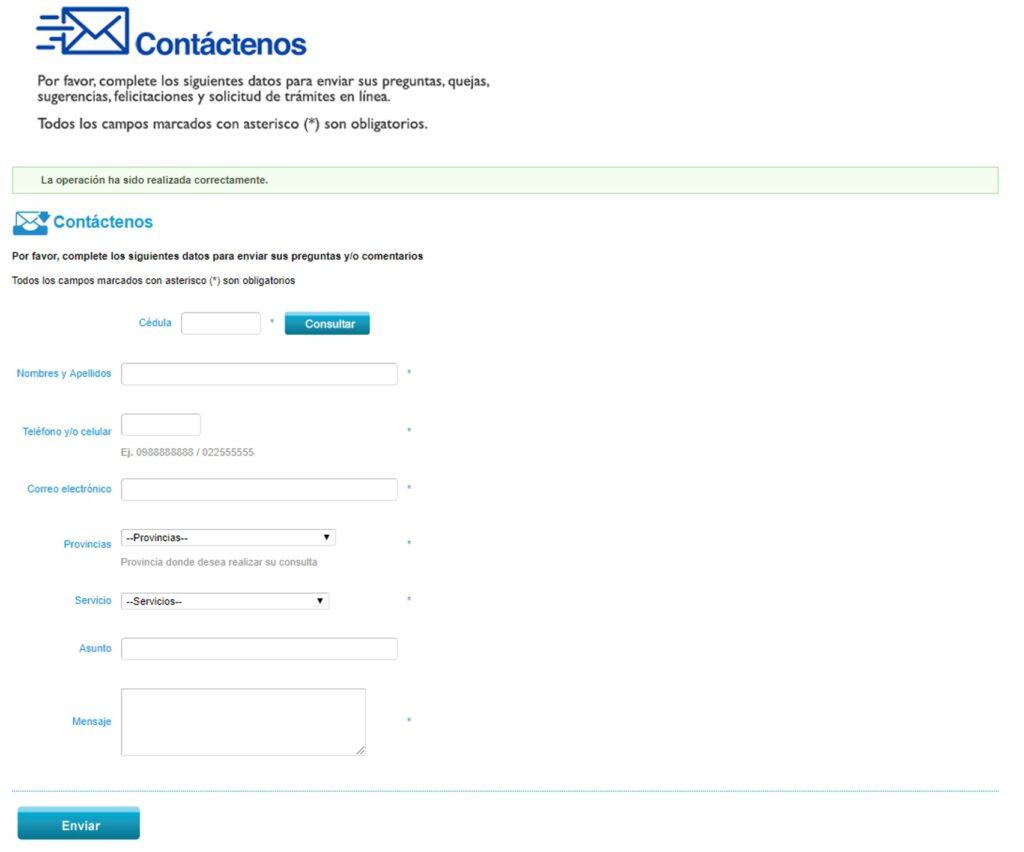 Desbloqueo de clave del Iess en Ecuador por formulario