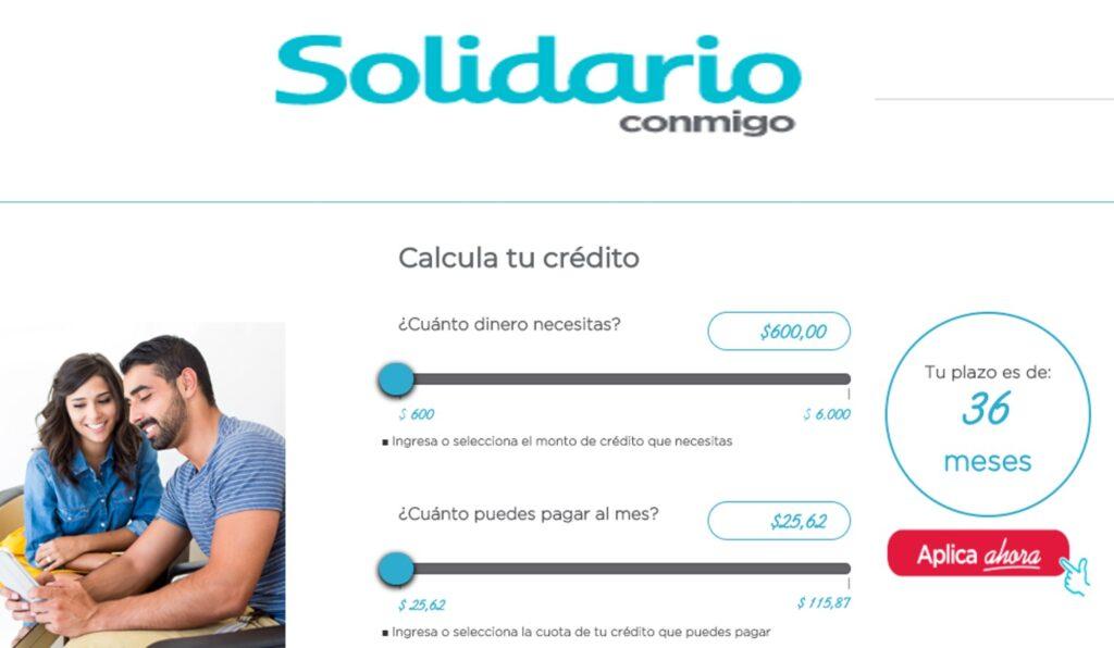 Requisitos para créditos sin garante del banco solidario