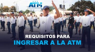 Requisitos para ingresar a la ATM