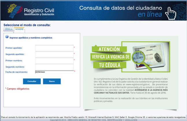 restaurar contraseña registro civil registro civil ecuador desbloquear cuenta registro civil consultar mi código dactilar registro civil cédula registro civil partida de nacimiento como sacar cita en el registro civil registro civil para sacar cédula