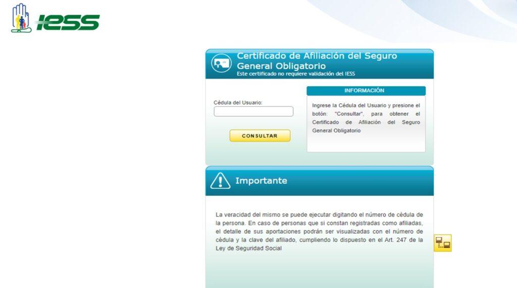 Certificado de NO afiliación IESS por Internetcertificado de no estar afiliado al iess con fecha de nacimientocertificado de afiliación al iess sin claveiess certificado de afiliación iesscertificado de no afiliación al isspoliess certificado deafiliacioncertificado mecanizado afiliación iesscertificado de no adeudar al iessdescargar certificado de afiliación