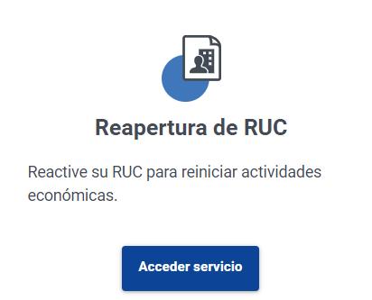 activar ruc suspendidoactivar ruc en líneasriactivar ruc suspendido de oficio