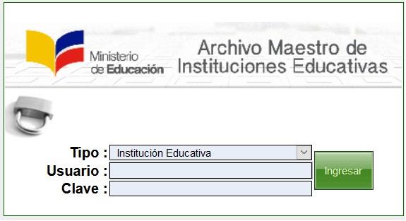 como llenar el archivo maestroamie 2020amie actualhttps ecuadorec com amie archivo maestro instituciones educativas ingresar