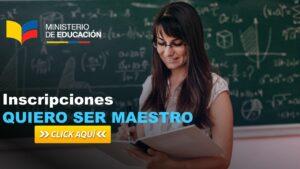 Inscripciones Quiero Ser Maestro – cronograma para ingresar al sistema
