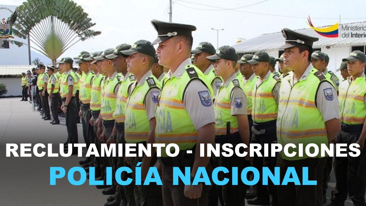 Reclutamiento Policía Nacional Ecuador - Inscripciones