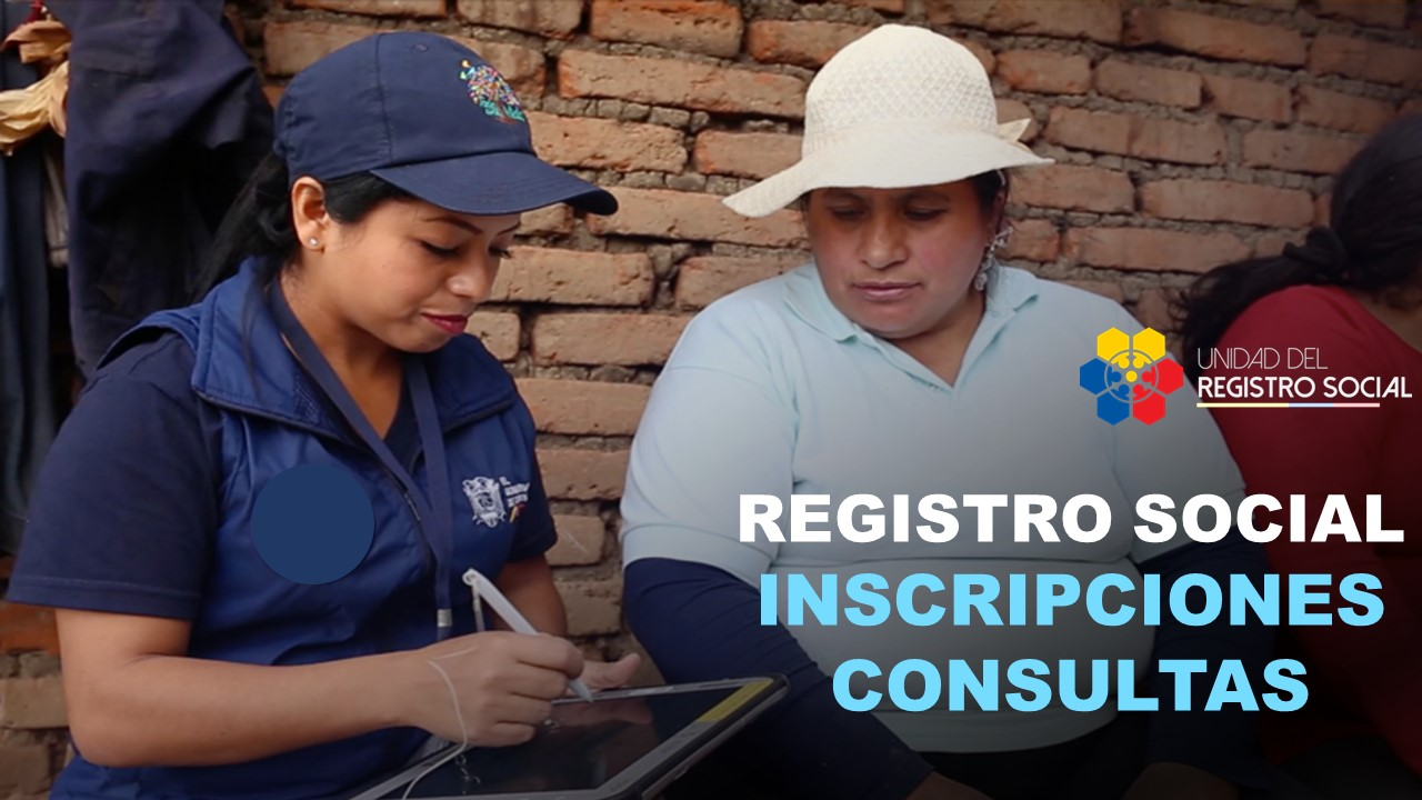 Registro social - Inscripciones y consultas